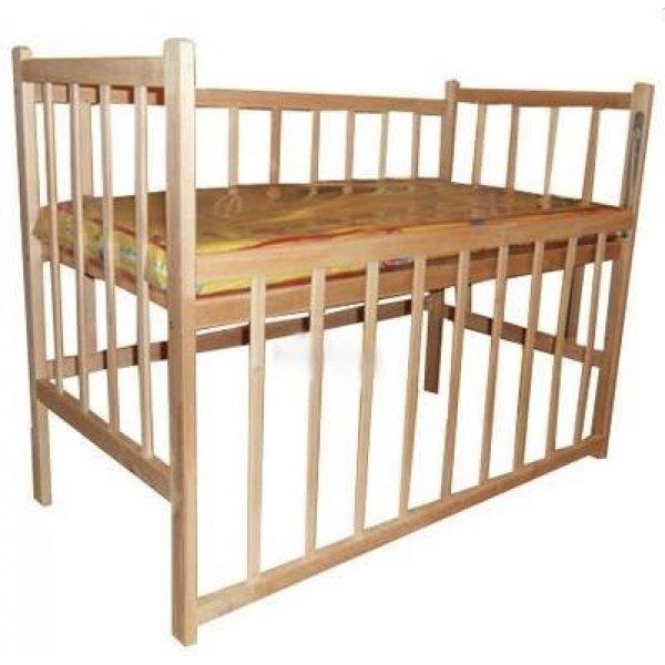 Детская кроватка КФ простая с опусканием